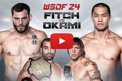 Watch WSOF 24: Fitch vs Okami undercard fights online | Live WSOF.com free stream video