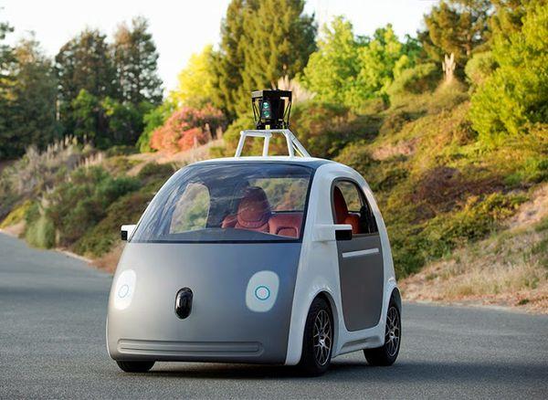 Google's latest self-driving car model
