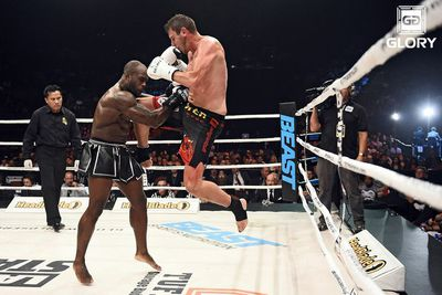community news, Training for UFC 187: GLORY middleweight Filip Verlinden helps Anthony Johnson prepare for Jones fight