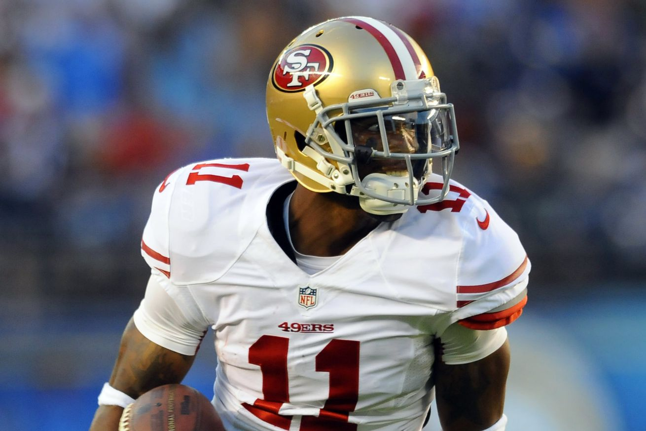 Jerseys NFL Outlet - Michael Crabtree, Quinton Patton do not appear on 49ers Wednesday ...