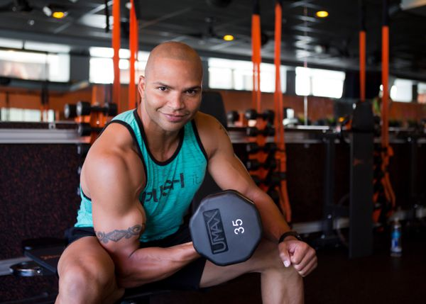 [8/12, 11am] LA's Hottest Trainer 2015 Contestant #5: Brendon Ayanbadejo, Orangetheory Fitness
