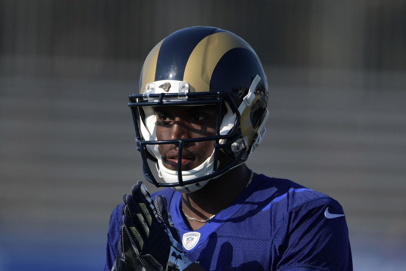 Rams Cut WR For Bringing Woman Into Dorm