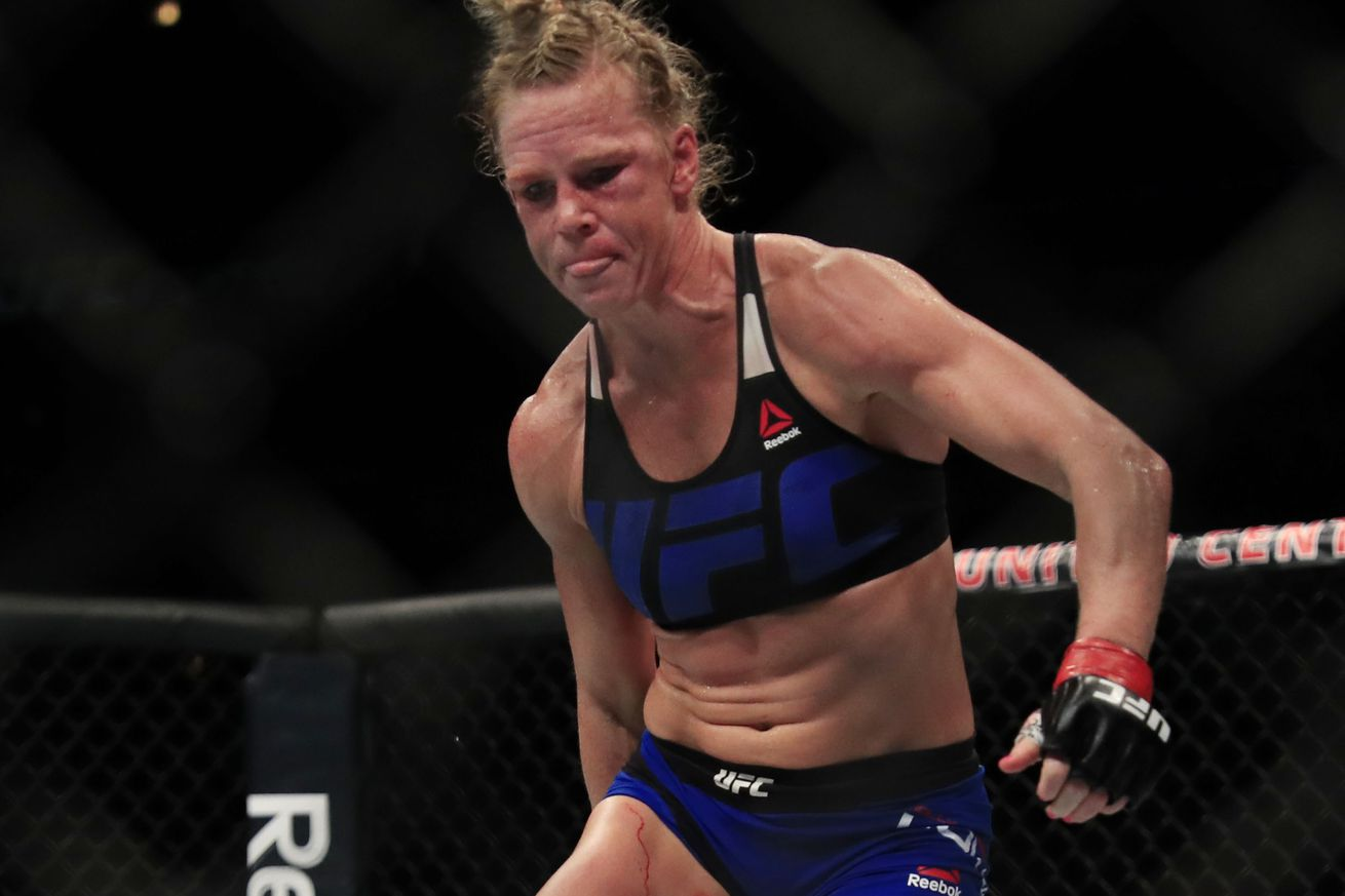 Manager: Back to back losses for former UFC champion Holly Holm a blessing in disguise