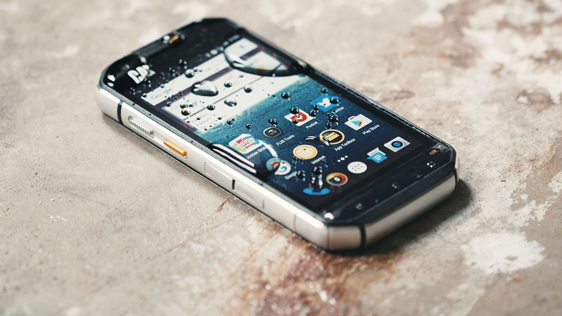 Cat S60 Review A Rugged Phone That Can See In The Dark Verge Waterproof Mobile Circuit Boards