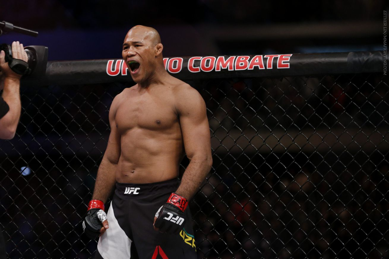 'Jacare' responds to Michael Bisping's criticism: I beat up the guy that knocked you out
