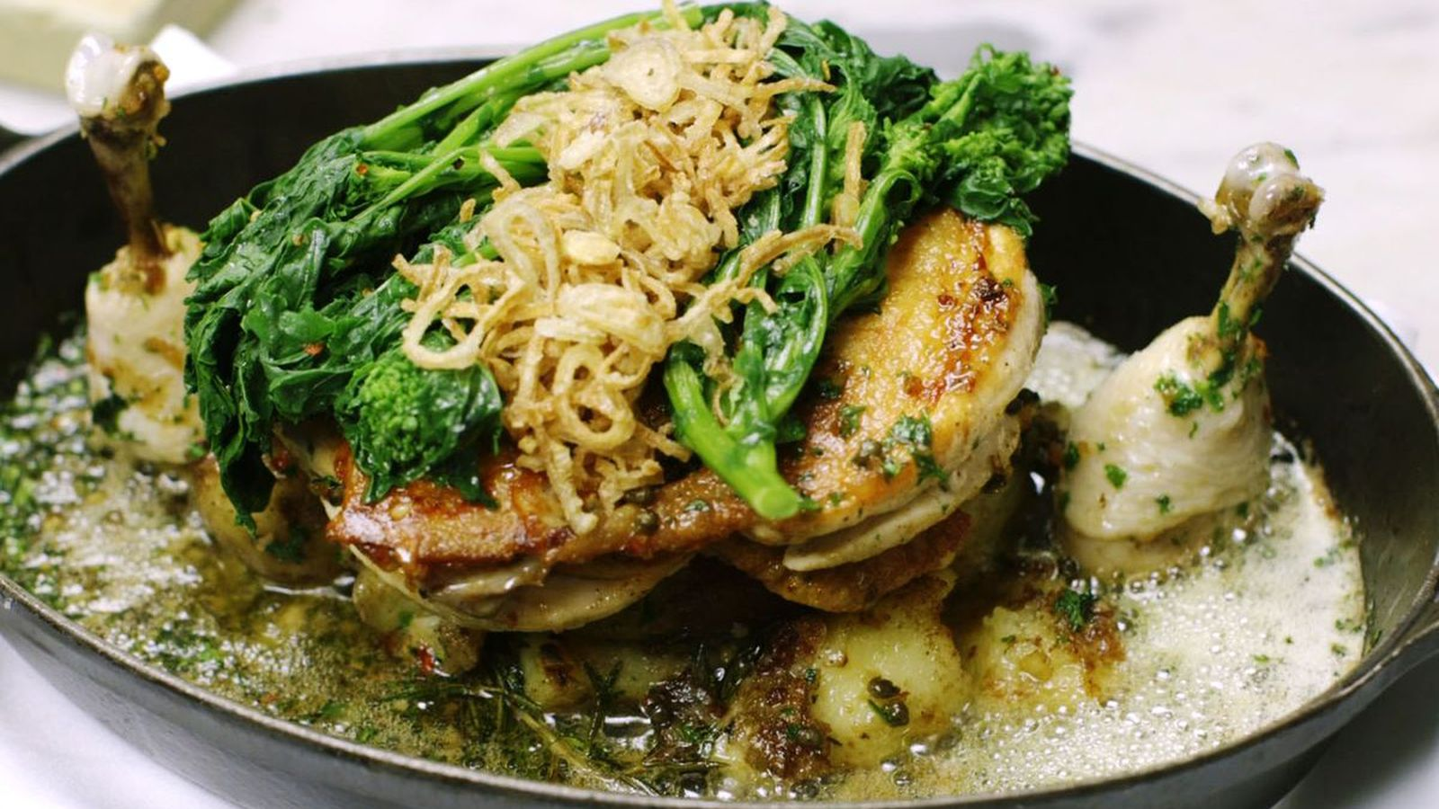 Sunday Recipe Chicken Under A Brick Eater