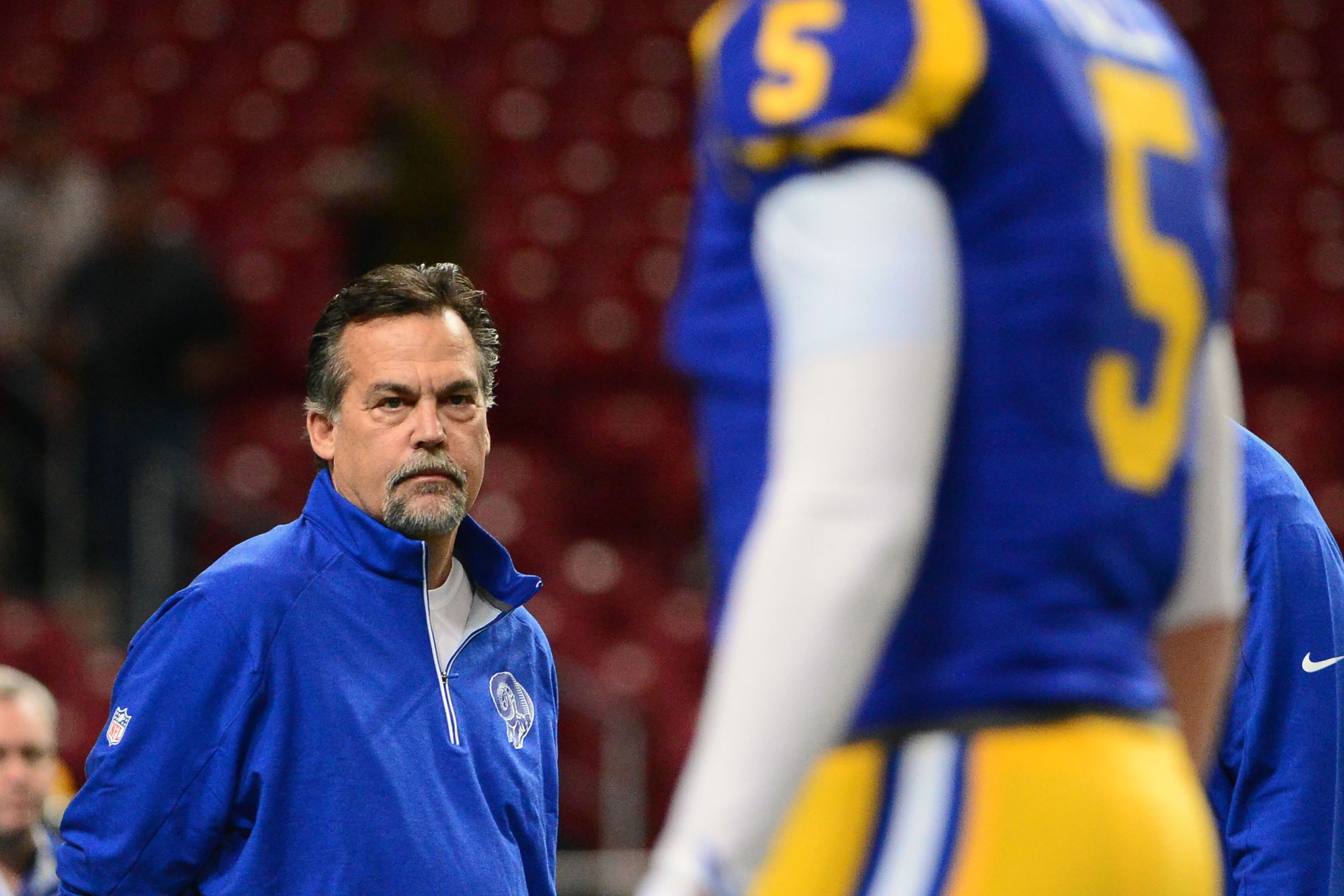 St Louis Rams Head Coach Jeff Fisher Is Out Of Answers