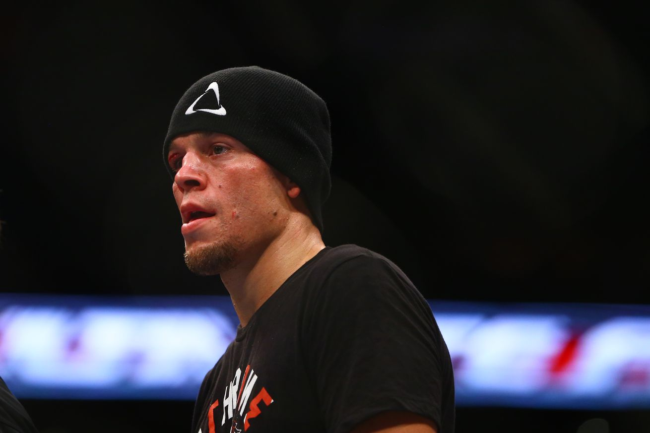 Why Nate Diaz never wants to fight on the same card as brother Nick