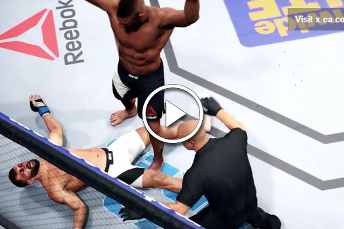 community news, Video: Watch Alistair Overeem knockout Andrei Arlovski at UFC Rotterdam in EA Sports simulation