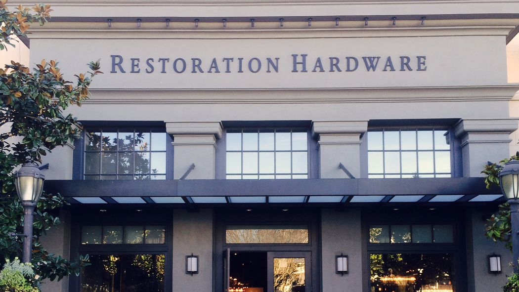 Restoration Hardware Is Bringing A Store Restaurant And