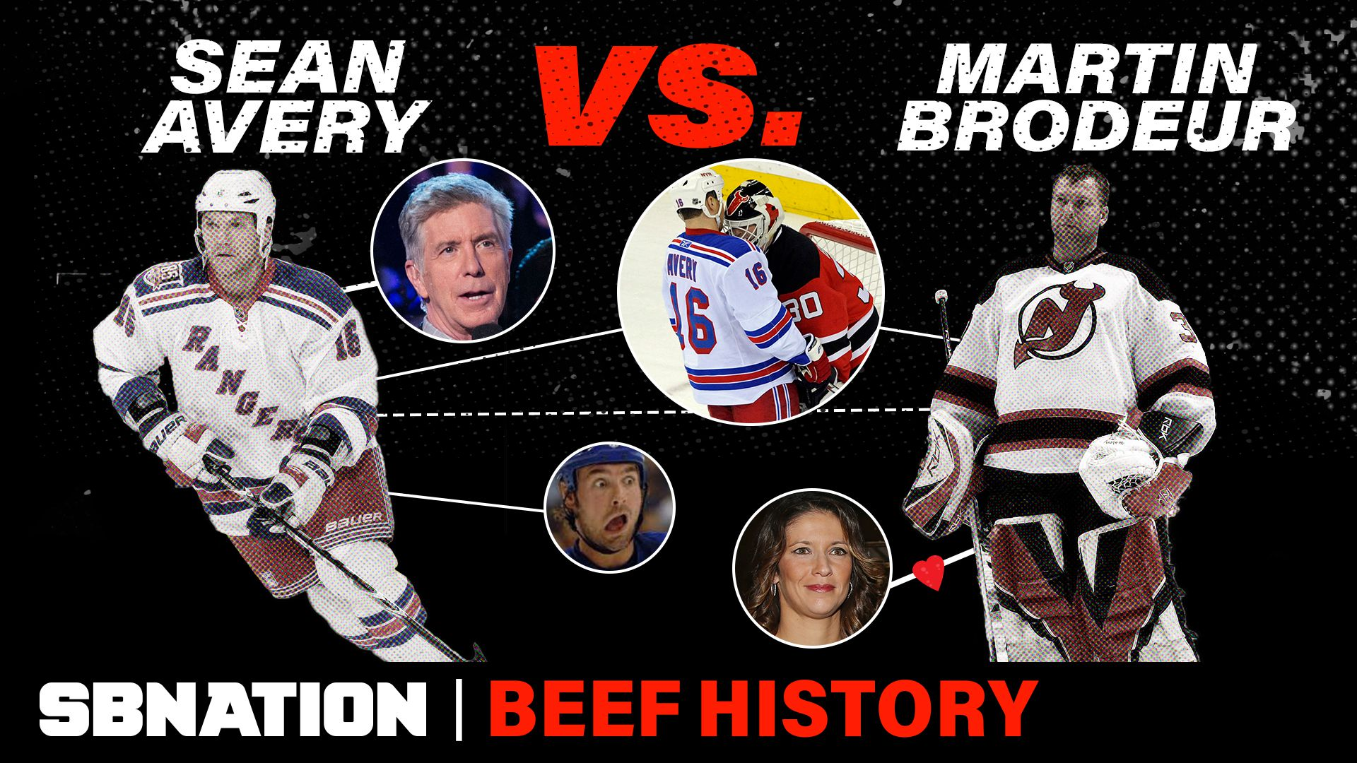 Remembering The Rivalry Between Sean Avery And Martin Brodeur