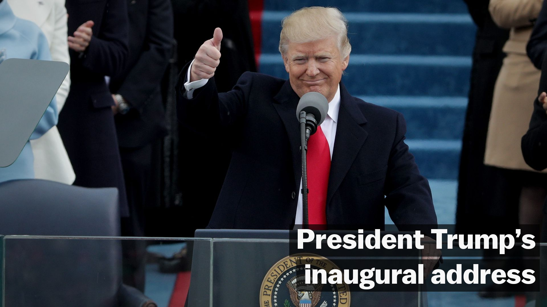 The real target of Trump's inaugural speech wasn't Barack Obama. It was George W. Bush.