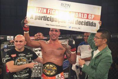 Newly crowned Jungle Fight champion enters Rizin FF heavyweight tournament