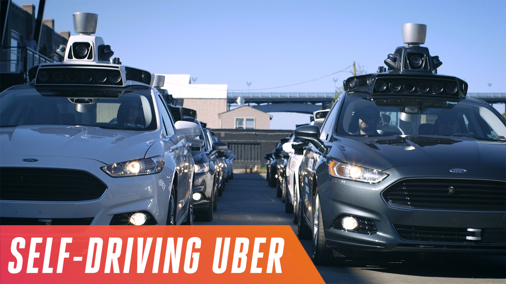 Behind the wheel of Uber\'s new self-driving car, which hits the road ...