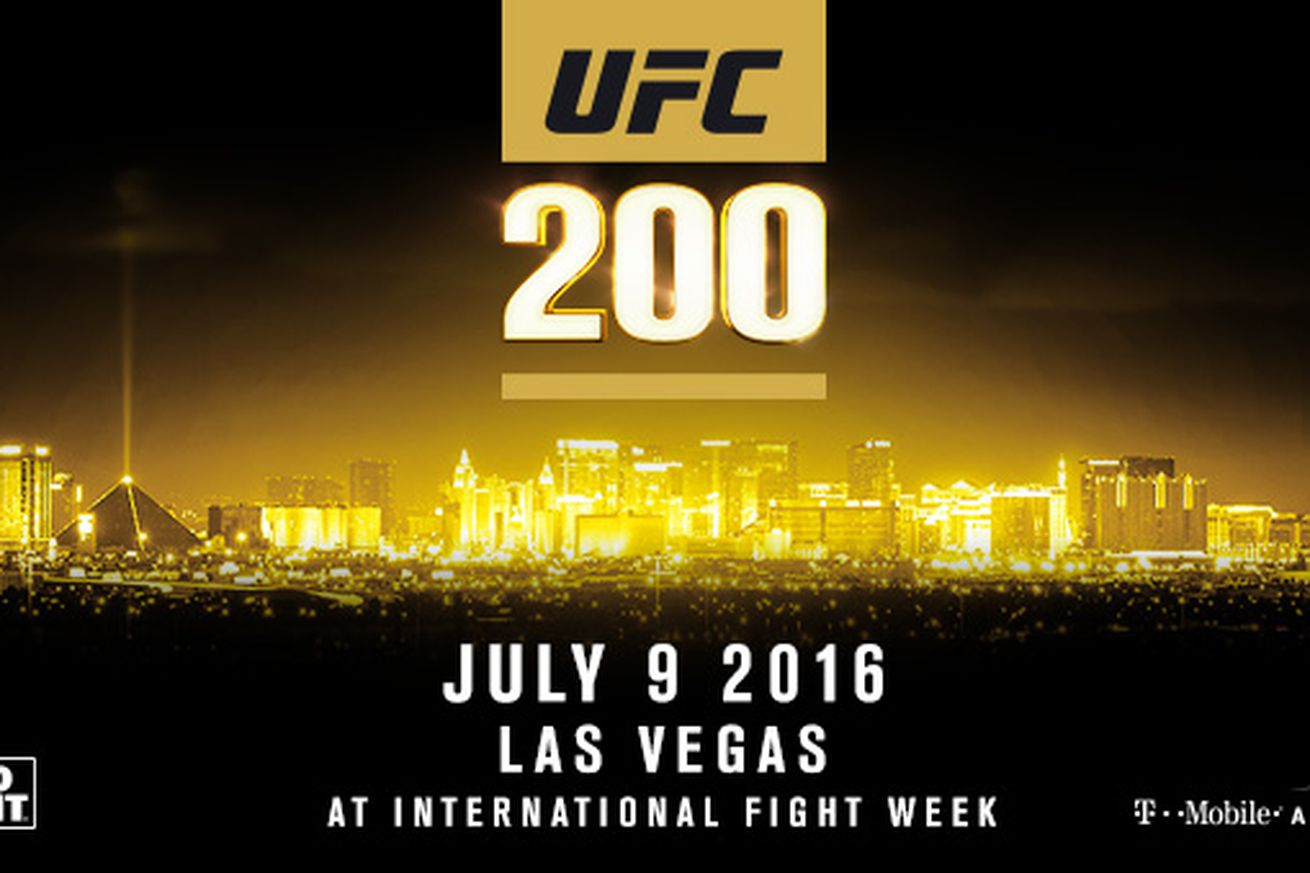 community news, UFC 200 tickets for sale online for MGM Grand seats at July 9 PPV event in Las Vegas