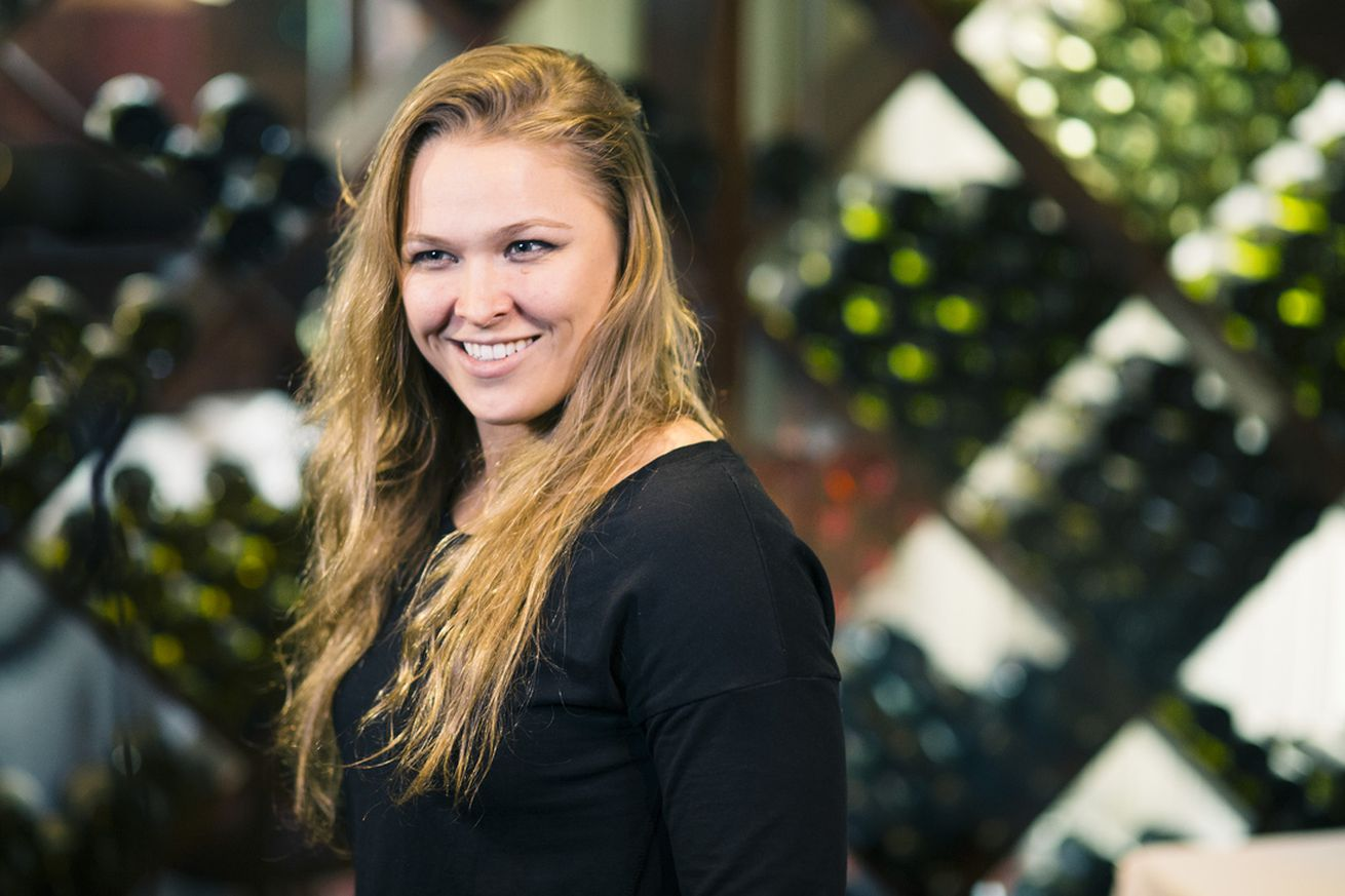 community news, Ronda Rousey signs three movie deal with the Lifetime network
