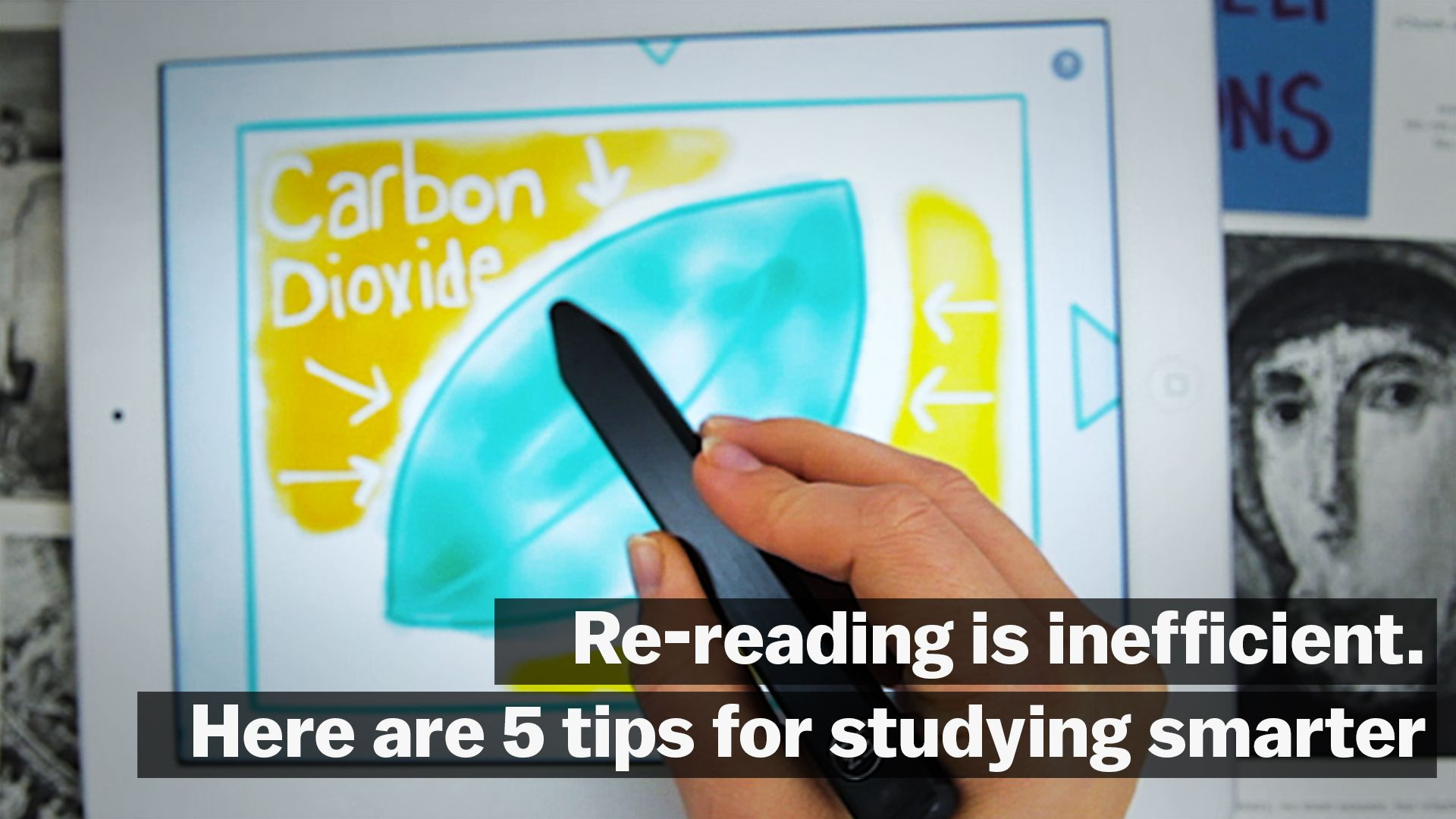 Re-reading is inefficient  Here are 8 tips for studying