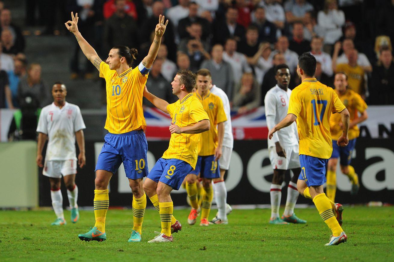 Zlatan Ibrahimovic fails to turn up against English ...