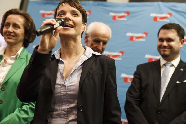 Alternative for Germany (AfD) leader Frauke Petry.