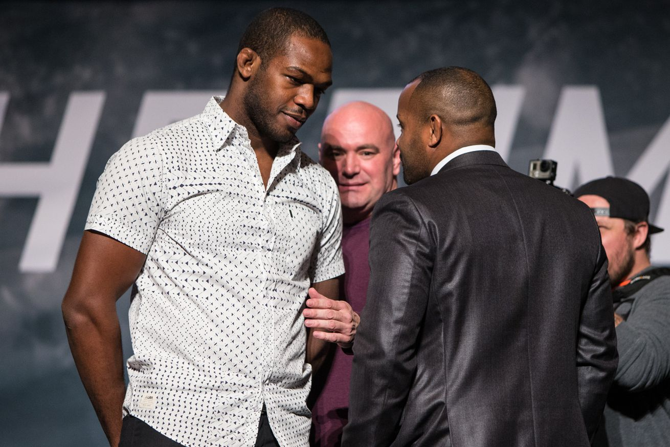 community news, Daniel Cormier compares Jon Jones to 'Dr. Jekyll and Mr. Hyde over deleted tweet