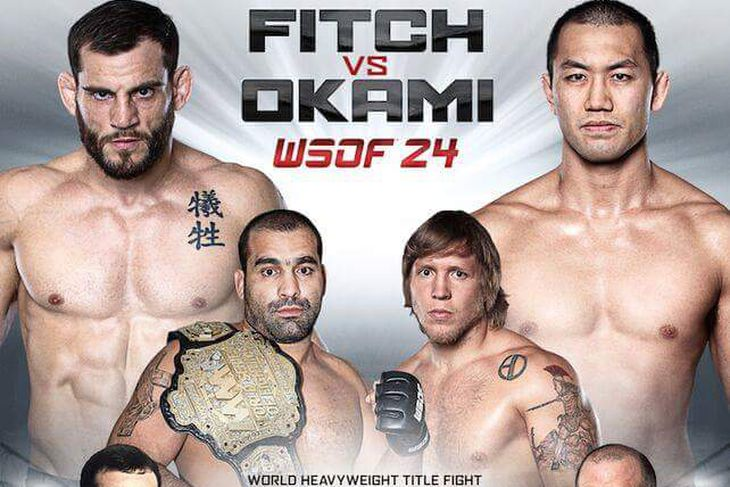 WSOF 24 Quick Results: Fitch vs Okami & Stream