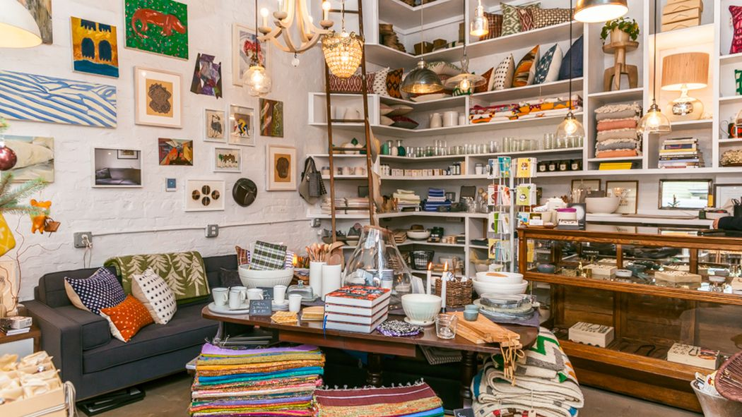 But underground, the store is huge and includes tables,chairs, rugs,dressers, bedding, mirrors, picture frames, vases, kitchen goods, candles, pet supplies, lamps and pretty much anything else you could possibly ever need for your home, and all at reasonable prices/5(82).