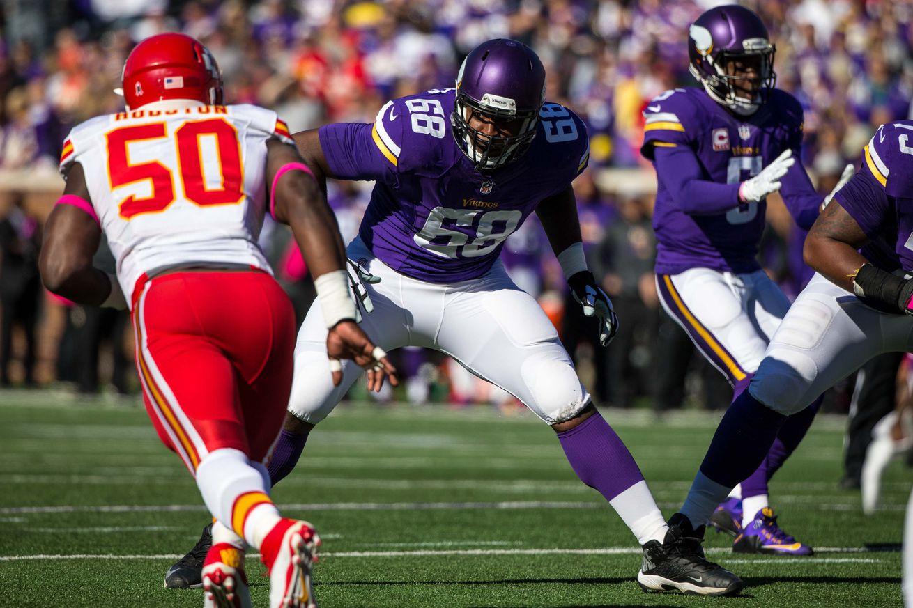 Minnesota Vikings' Offensive Line Gets. . .Praise?