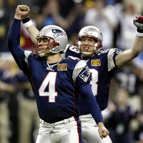 Adam Vinatieri & Rod Smart recall the dramatic finish from the last time the Patriots won a Super Bowl inHouston article image