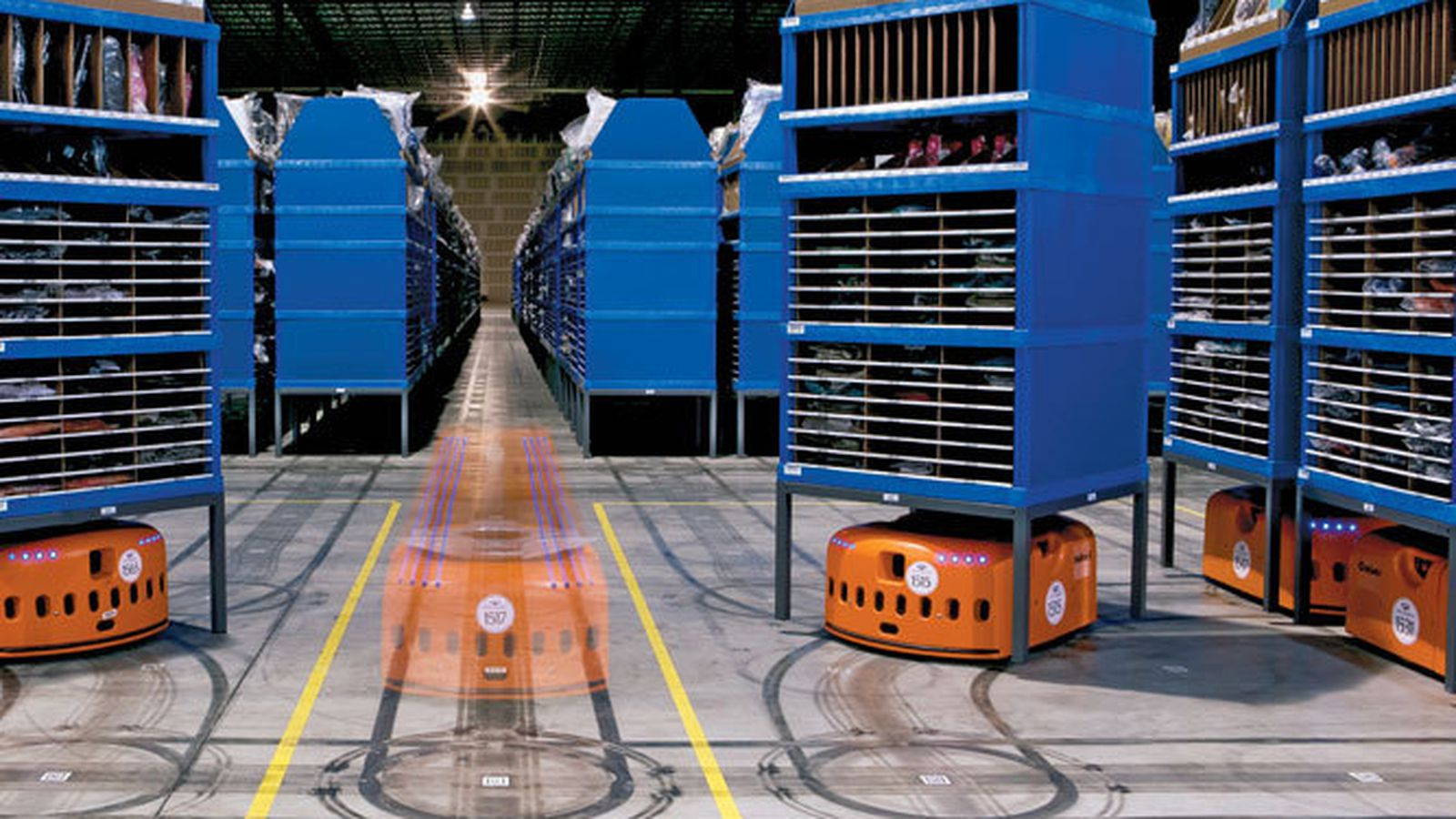 10 000 Robots Coming To Amazon Warehouses The Verge
