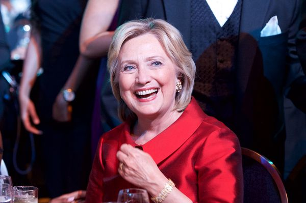 Clinton at the 45th Annual Legislative Black Caucus Foundation Conference's Phoenix Awards Dinner at Walter E. Washington Convention Center on September 19, 2015 in Washington, DC