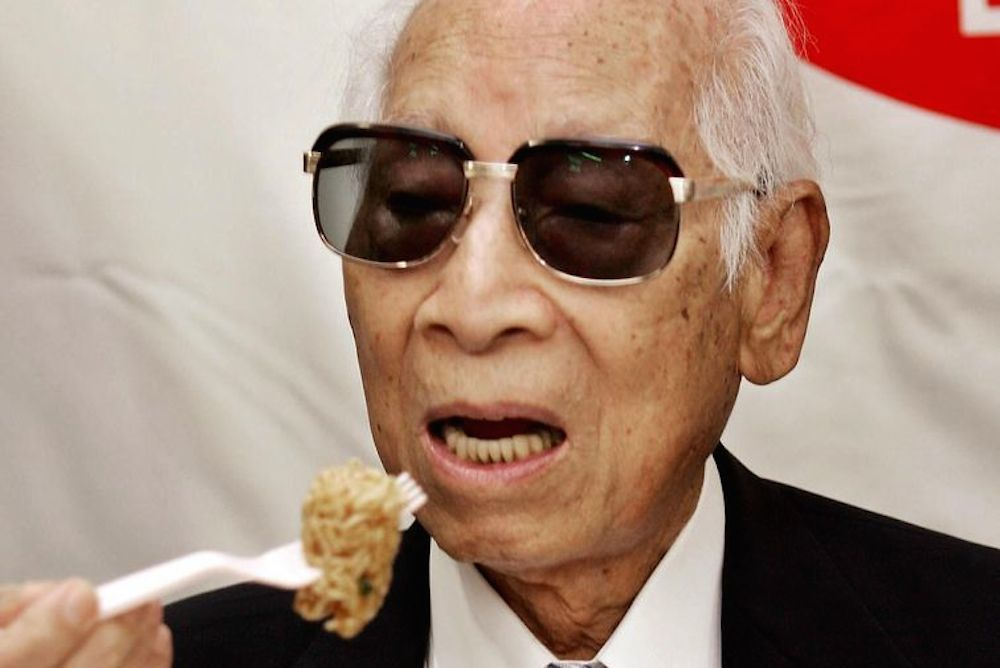 Today s google doodle honors instant noodle inventor momofuku ando