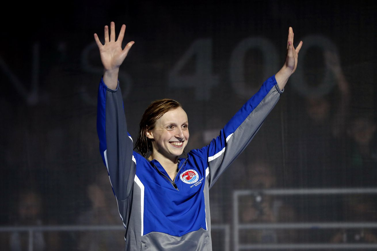 Olympics notebook: U.S. swimmer Katie Ledecky books her passage to Rio