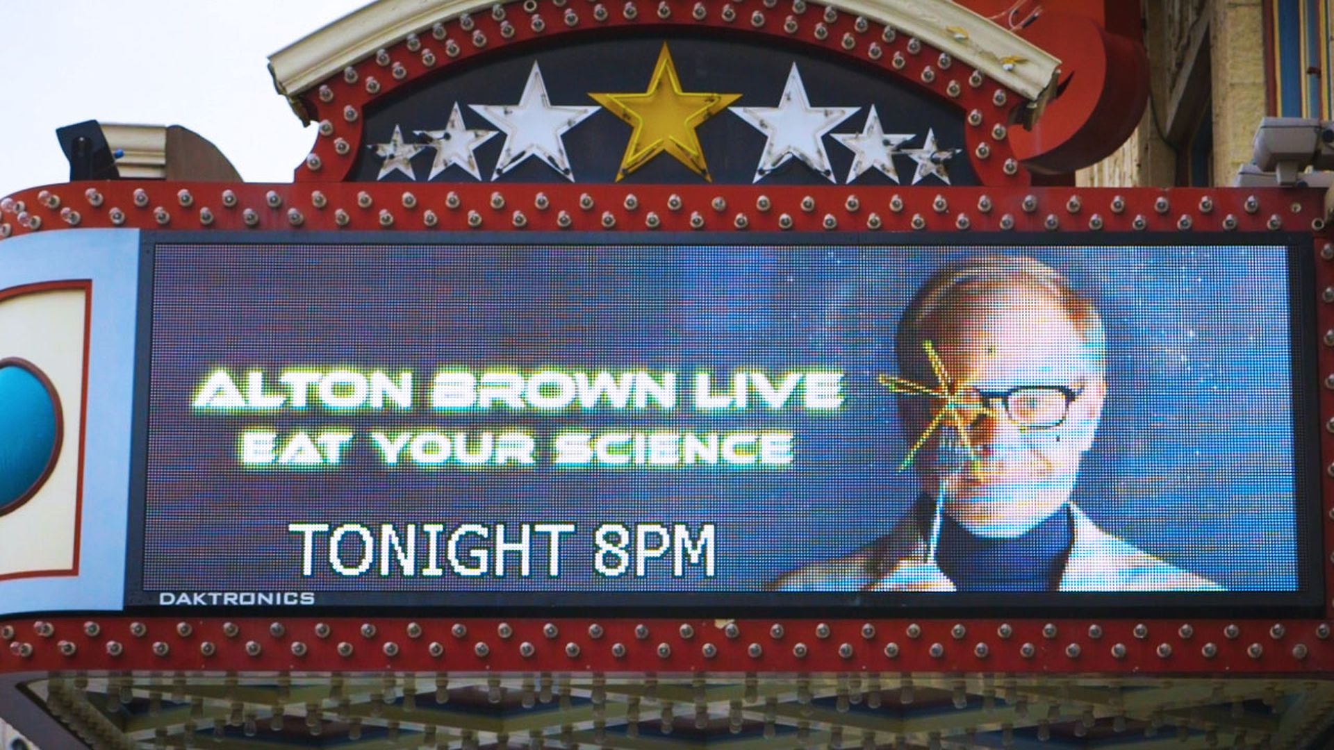 Watch: Alton Brown\'s Tour Diary Is Full of Drones and Selfies - Eater