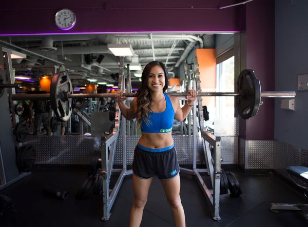 [8/13, 2pm] LA's Hottest Trainer 2015 Contestant #8: Katrina Valdez, Crunch Sunset