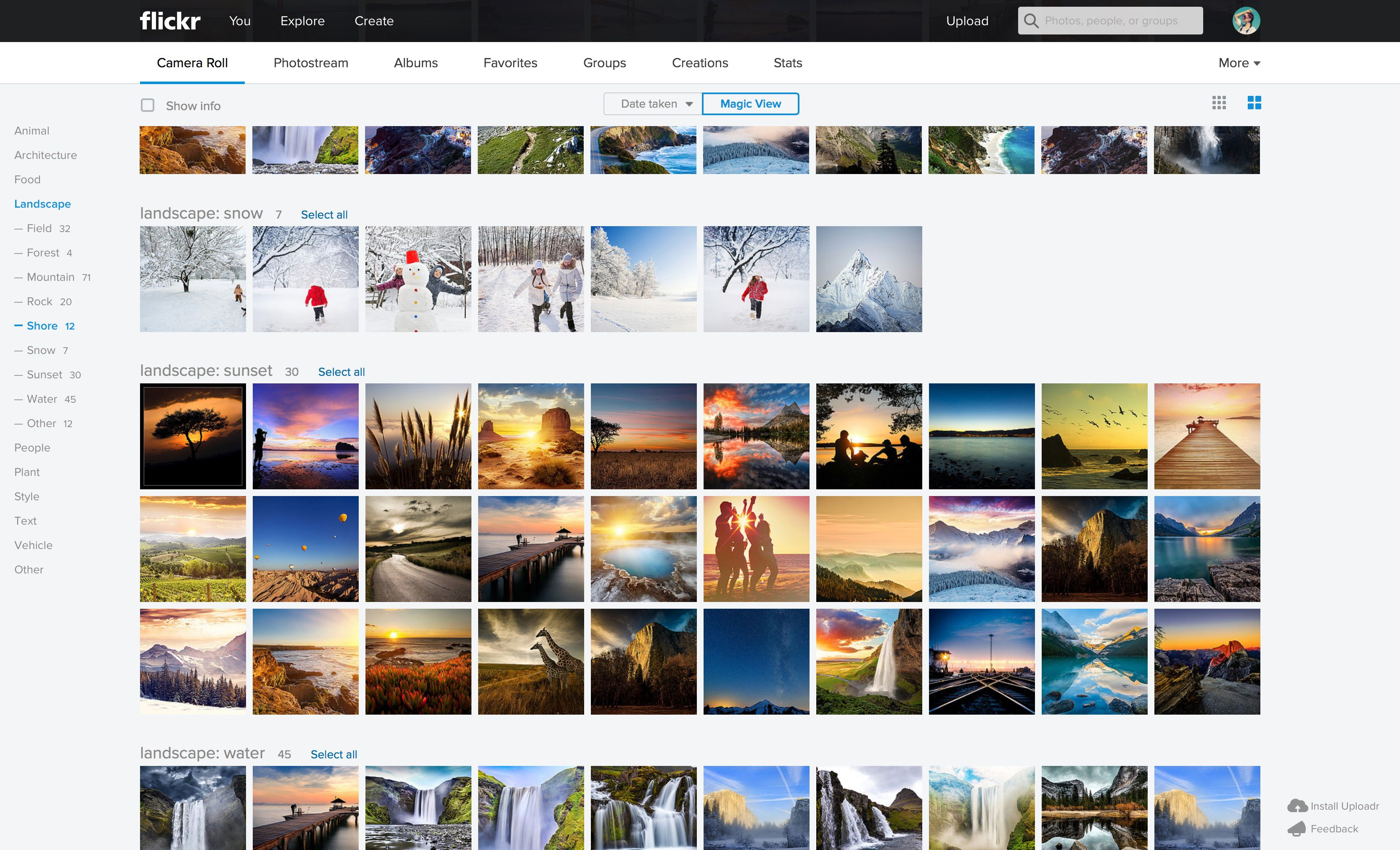 Flickr redesigns web and mobile apps to create a ...