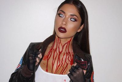 community news, Pic: Arianny Celeste dazzles in frightening, bloody Halloween costume