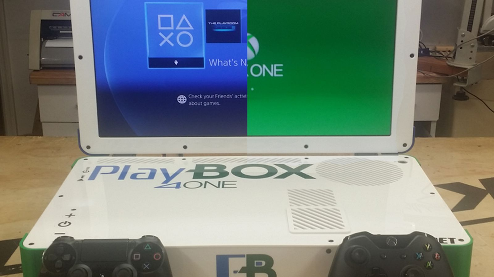 This Is What A Combined Xbox One Playstation 4 Laptop