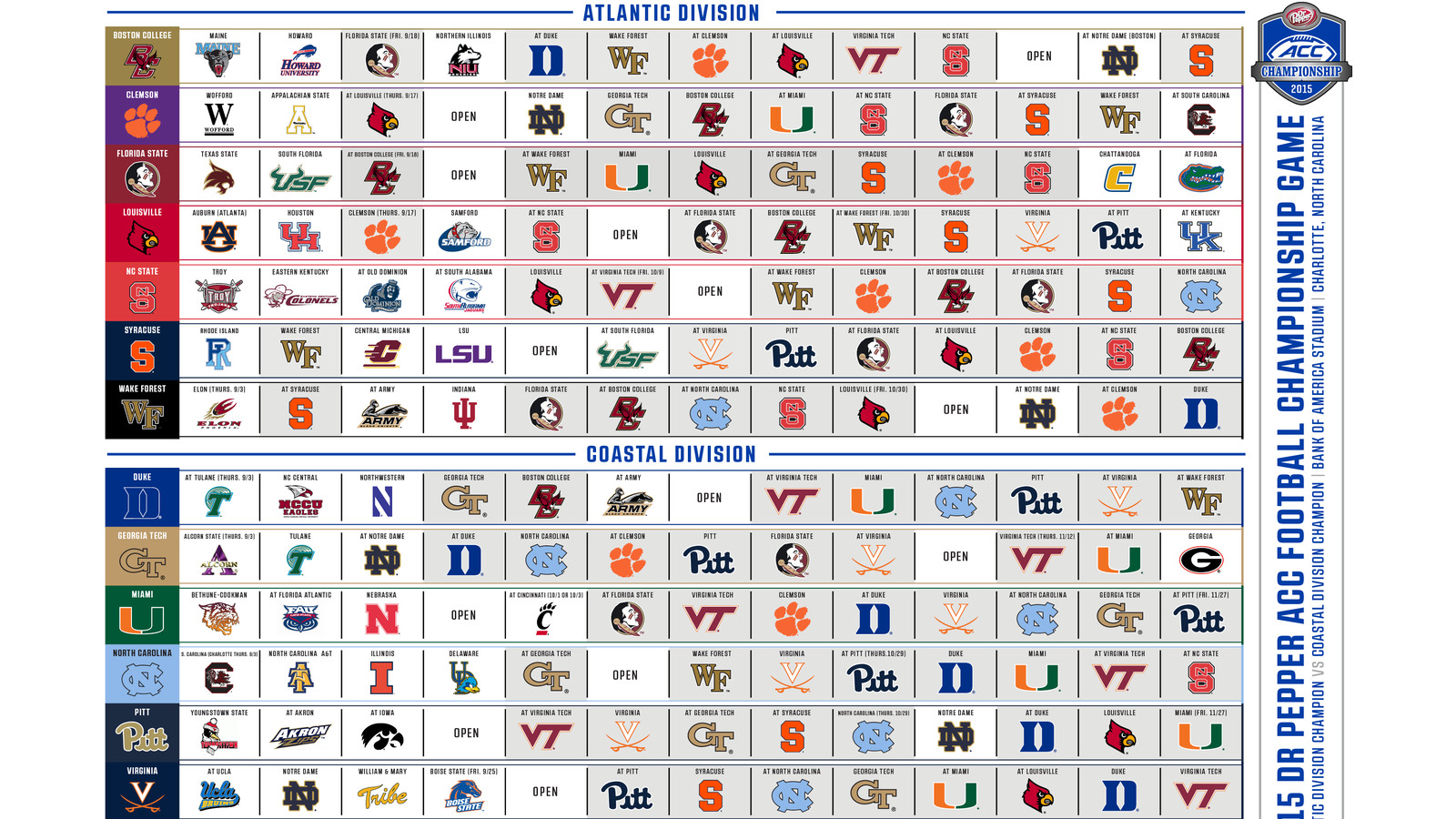 Football S 2016 Schedule Announced By Sec The Sec Released . Sec ...