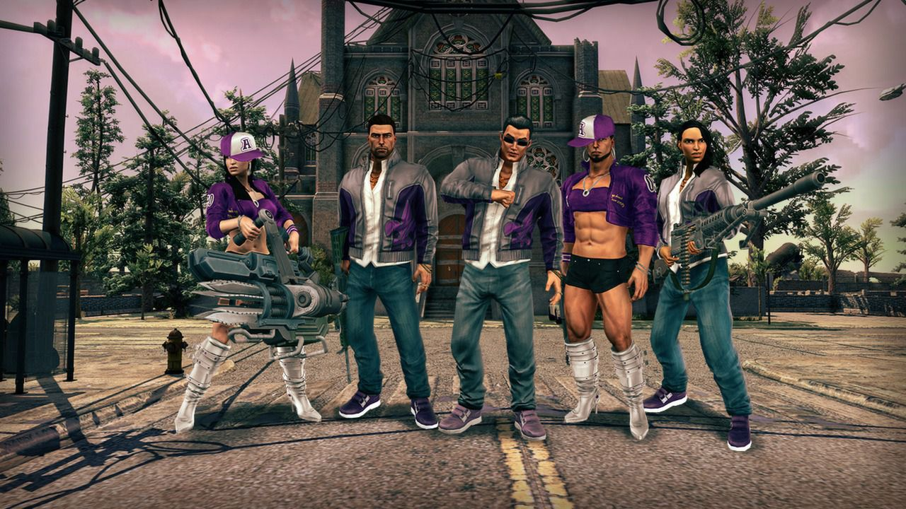 Saints row 1 clothing stores