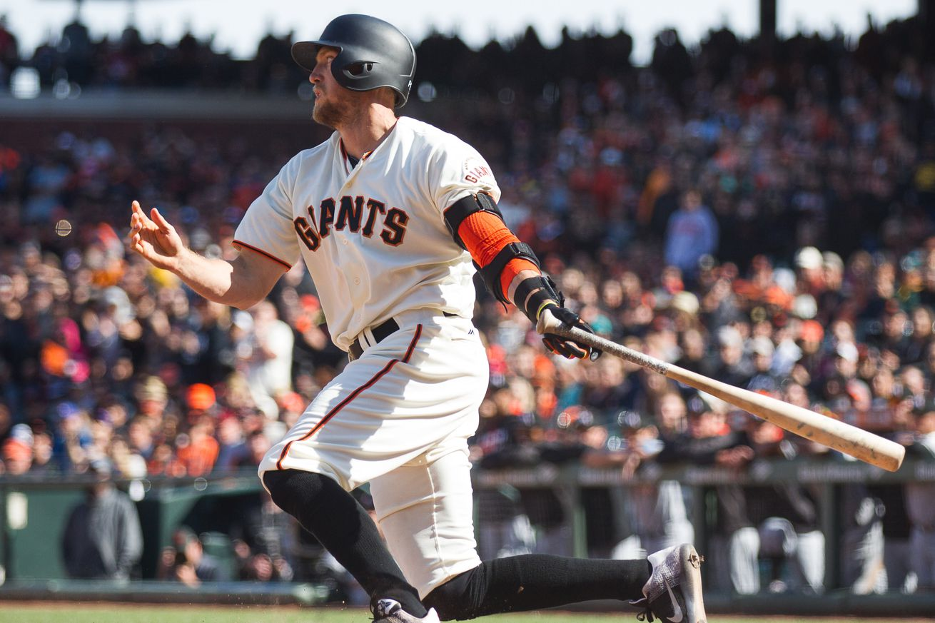 The new and improved Hunter Pence can take a walk