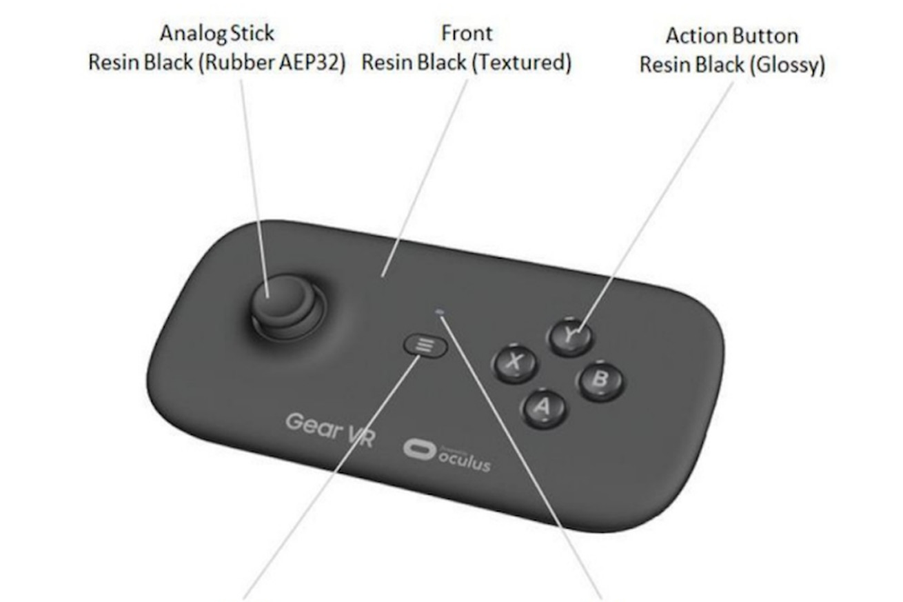Here's why that 'leaked' Gear VR controller makes no sense