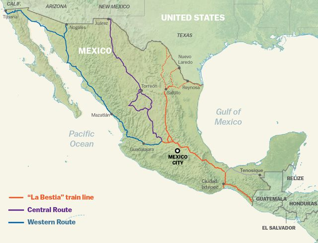 Mexico / Guatemala | Borders