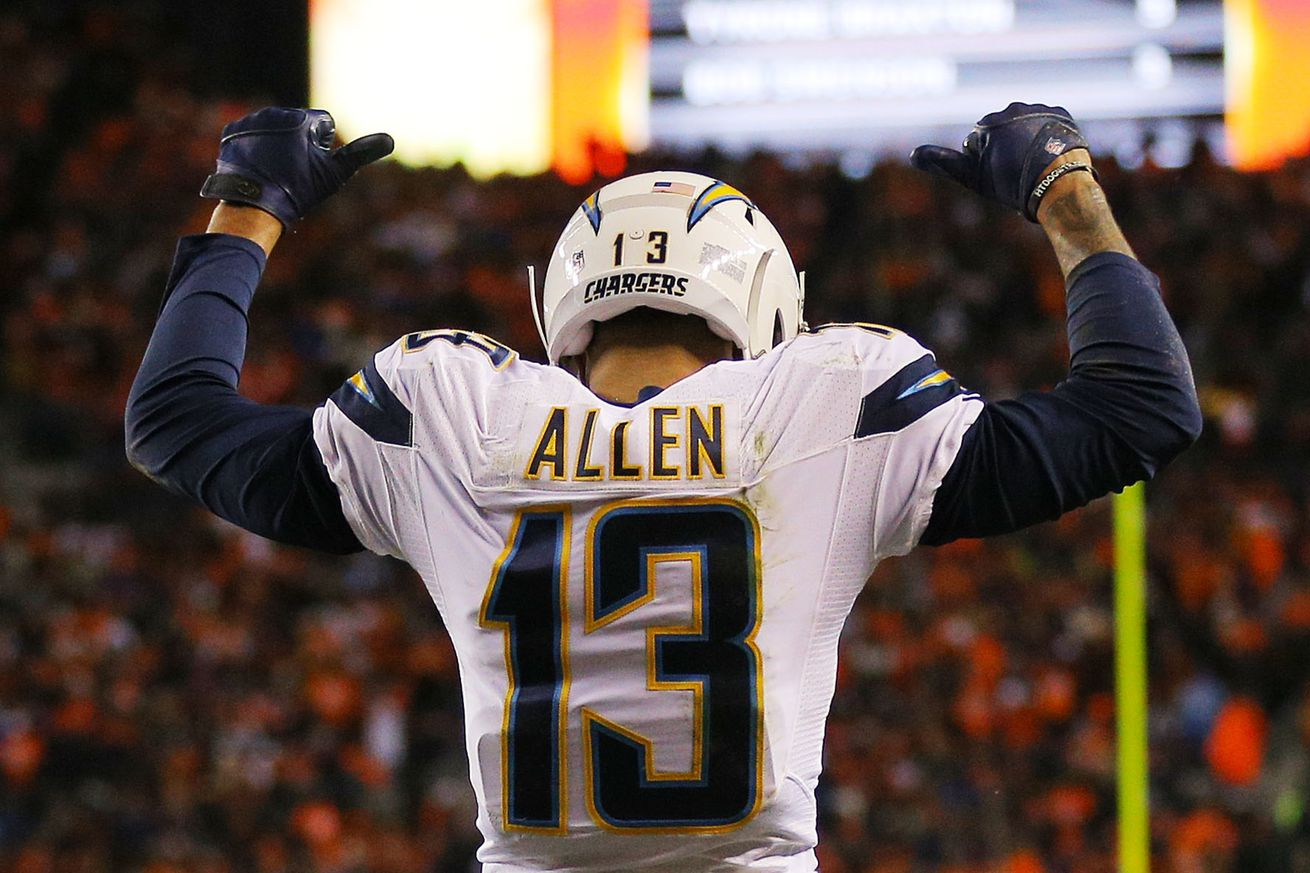 Most Valuable San Diego Chargers: #3 Keenan Allen - Bolts ...
