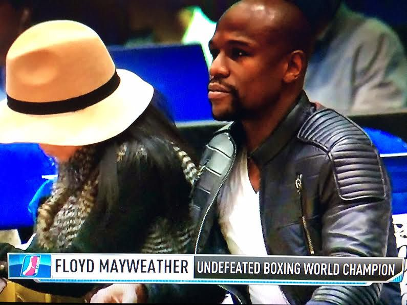 Floyd Mayweather Was Spotted at an National Basketball Association  D-League Game