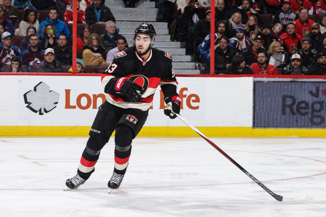Rangers trade Derick Brassard to Senators