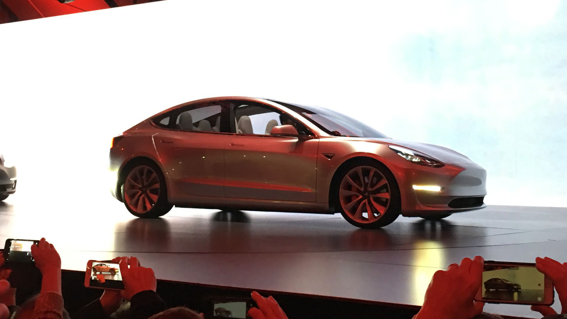 Watch this supercut of elon musk unveiling the new tesla model 3 the verge