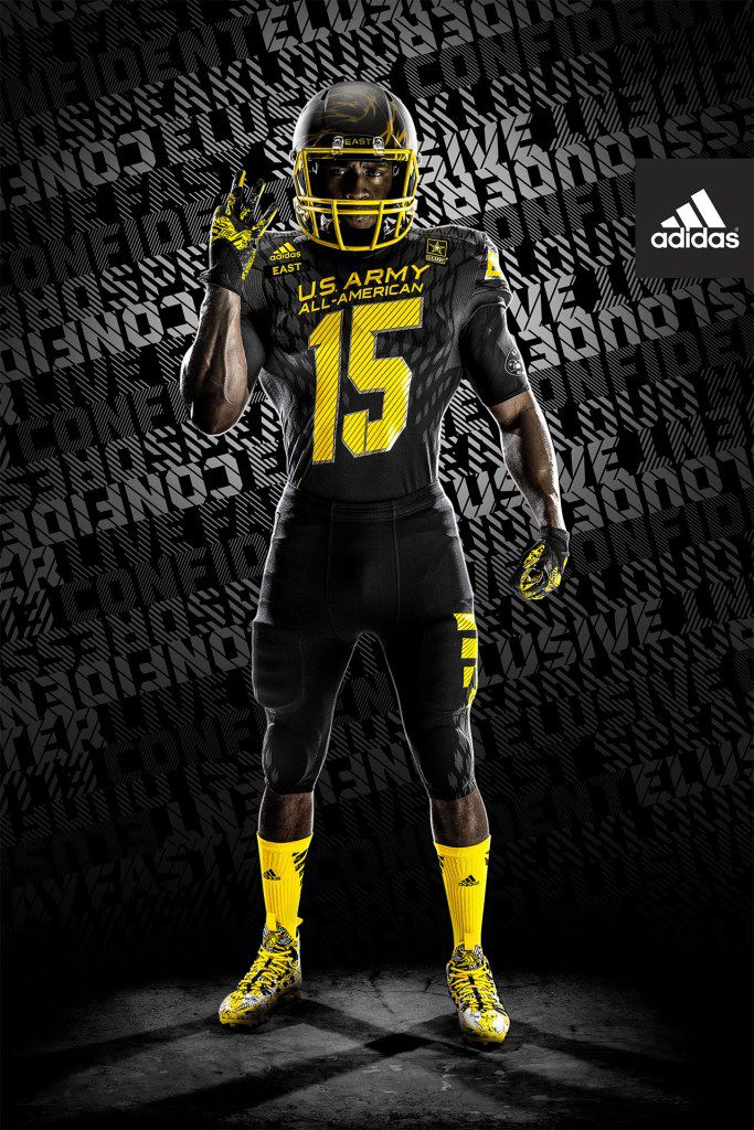 2015 US Army All-American Bowl: Adidas unveils new ...