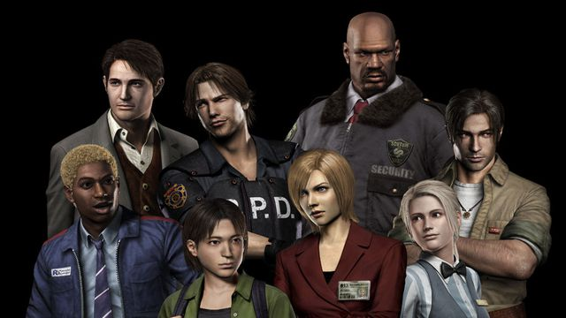 Resident Evil Outbreak Logo Stay Connected