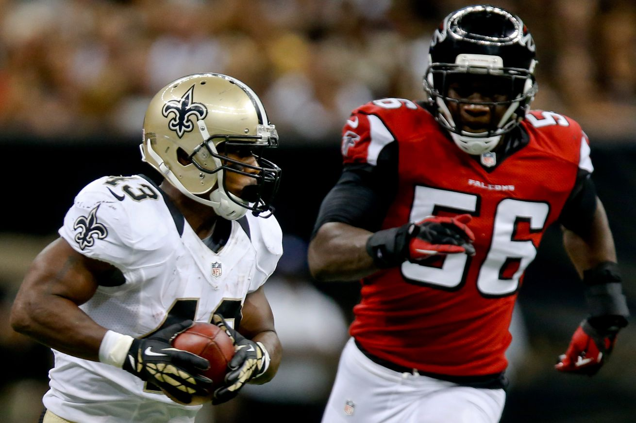 NFL Jerseys Official - Saints 'In Play' For Falcons' LB Sean Weatherspoon - Canal Street ...