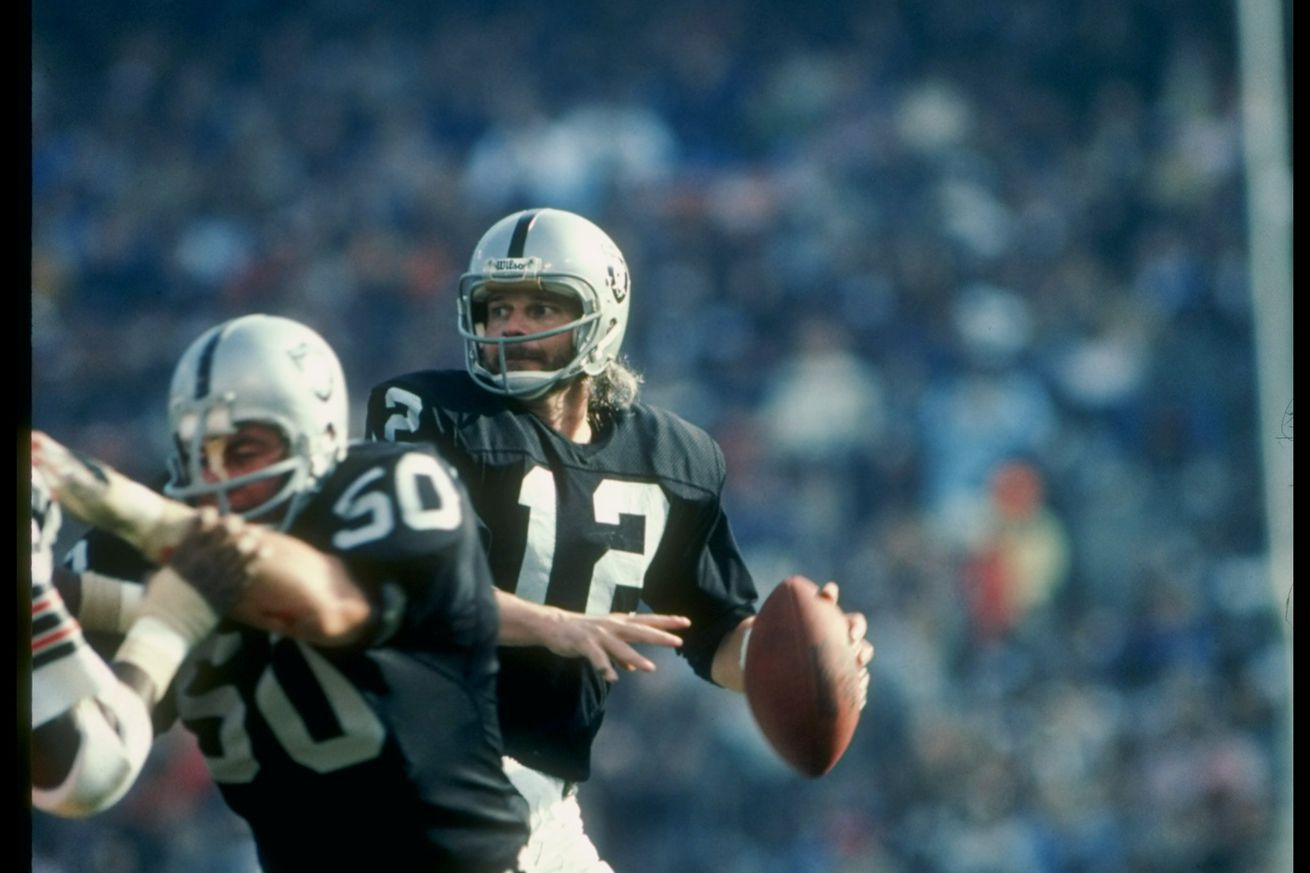The late Ken Stabler inducted into Pro Football Hall of Fame